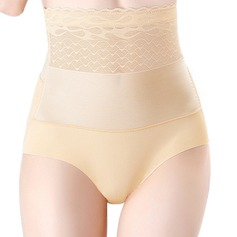 Women Elegant/Charming Chinlon/Nylon Breathability/Butt Lift High Waist Panties Shapewear (125204218)