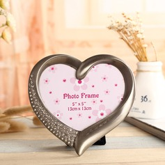 Heart Shaped Alloy Photo Frames