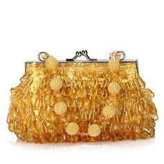 Gorgeous Acrylic With Beading/Sequin Clutches (012025208)