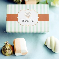 """Ocean Breeze"" Seashell Favor Box"