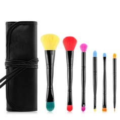 Artificial Fibre Fashion 6Pcs Makeup Supply
