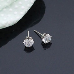 Shining Alloy Zircon Ladies' Fashion Earrings (137045738)