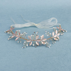 Beautiful Rhinestone/Imitation Pearls Headbands With Venetian Pearl (Sold in single piece)