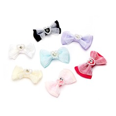 Lovely Bowknot Fabric Decorative Accessories (set of 50)