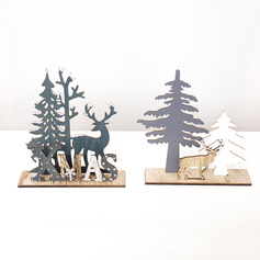 Christmas Wooden Home Décor (Sold in a single piece)
