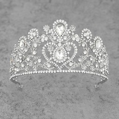 Ladies Gorgeous Alloy/Platinum Plated Tiaras (042105367)