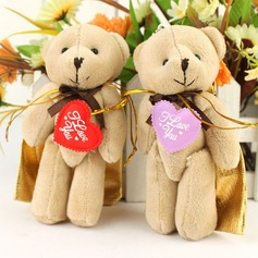 Cute Bear Favor Bags With Ribbons  (050031664)