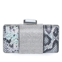 Gorgeous PU med Strass Grepp