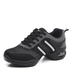 Women's Fabric Sneakers Jazz Dance Shoes