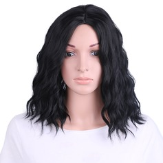 Wavy Synthetic Hair Capless Wigs 160g