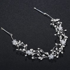 Ladies Eye-catching Alloy Headbands With Crystal