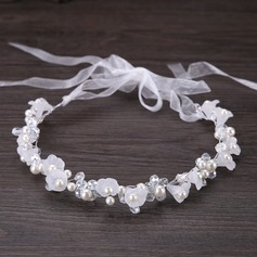 Ladies Elegant Rhinestone Headbands With Venetian Pearl