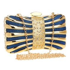 Elegant Polyester/Alloy Clutches