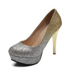 Frauen PU Stöckel Absatz Absatzschuhe Plateauschuh mit Andere Schuhe