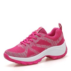 Femmes maille avec Dentelle Baskets & Chaussures de sport