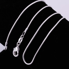 Nice Silver Plated Unisex Fashion Necklace