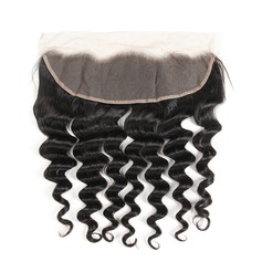 "13""*4"" 5A Loose Human Hair Closure (Sold in a single piece)"