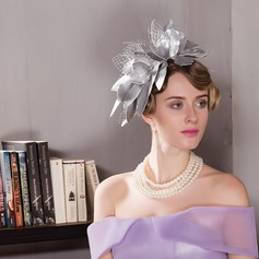 Damer' Vackra Och polyester Fascinators/Kentucky Derby Hattar/Tea Party Hattar
