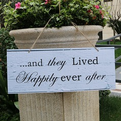Personalized Vintage PVC Wedding Sign