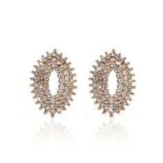 Fashion Alloy With Crystal Ladies' Earrings