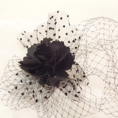 Damer' Klassisk stil Netto garn Fascinators