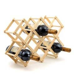 Wood Bottle Holder / Wine Rack