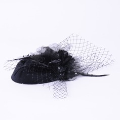 Ladies' Elegant Silk Flower Fascinators/Tea Party Hats