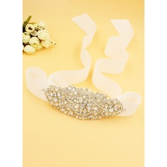 Beautiful Sash With Rhinestones (015116478)