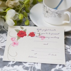 Blomstrete Stil Flat Card Invitation Cards