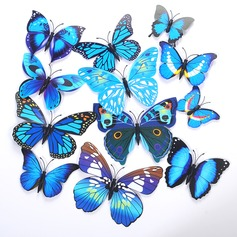 3D/DIY Sticker PVC Butterfly/Decorative Accessories (set of 12)