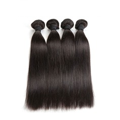 5A Non remy Straight Human Hair Human Hair Weave (Sold in a single piece) 50g