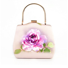 Silk Top Handle Bags/Bridal Purse/Evening Bags