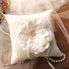Elegant Ring Pillow in Silk (103143823)