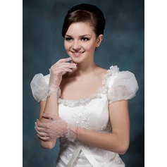 Voile Wrist Length Bridal Gloves (014020505)