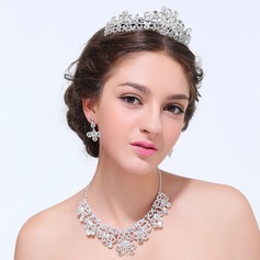 Attractive Alloy With Rhinestone Ladies' Jewelry Sets