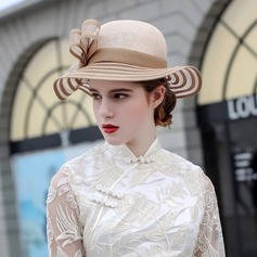 Ladies' Beautiful/Fashion/Glamourous/Elegant/Unique/Amazing/Eye-catching/Charming/Fancy/Artistic Cambric With Bowknot Beach/Sun Hats