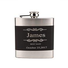 Personalized Delicate Stainless Steel Flask