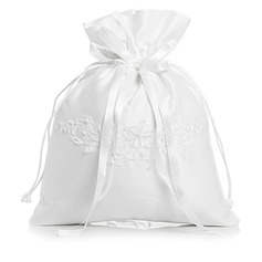 Unique Satin With Imitation Pearl/Lace Bridal Purse (012003821)
