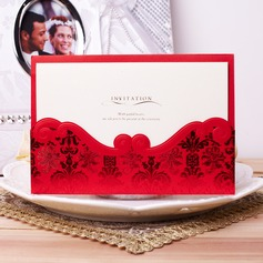 Estilo Clássico e do bolso Invitation Cards (Conjunto de 50)