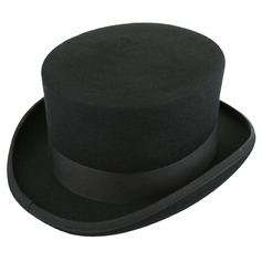 Mænd Glamourøse/Classic Uld Fedora Hat