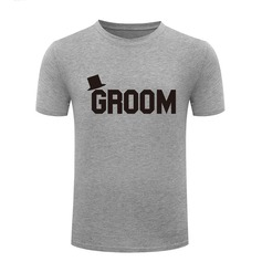 Groom Gifts - Cotton T-Shirt (257171756)