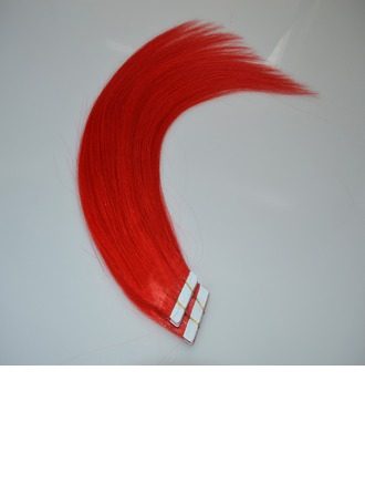4A Non remy Straight Human Hair Tape in Hair Extensions (Sold in a single piece) 50g