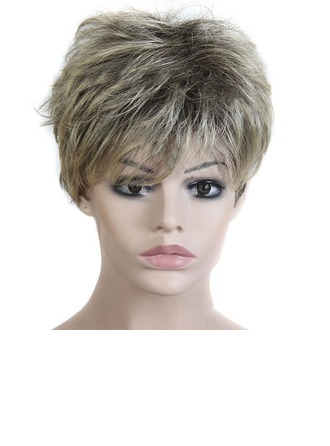 Straight Synthetic Hair Synthetic Wigs 180g