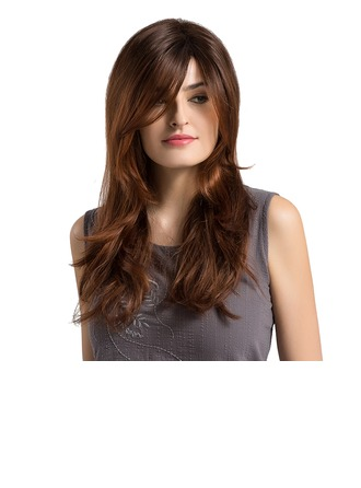Wavy Synthetic Hair Capless Wigs 380g