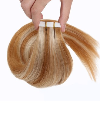 5A Virgin/remy Straight Human Hair Tape in Hair Extensions (Sold in a single piece) 100g