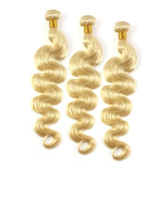 3A Body Human Hair Human Hair Weave (Sold in a single piece)