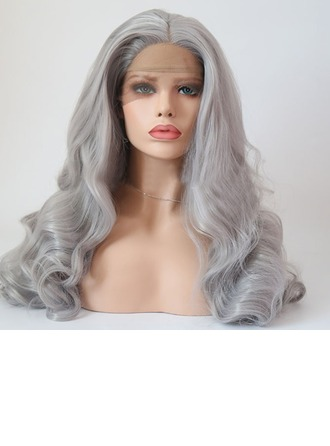Wavy Synthetic Hair Capless Wigs 260g