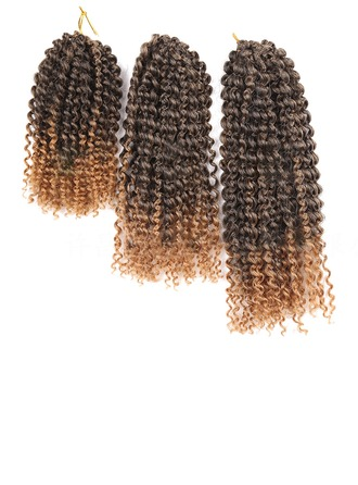 Curly Synthetic Hair Braids (Sold in a single piece) 120g