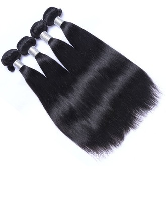 4A Non remy Straight Human Hair Human Hair Weave (Sold in a single piece)