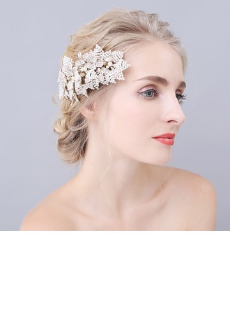 Eye-catching Imitation Pearls Combs & Barrettes